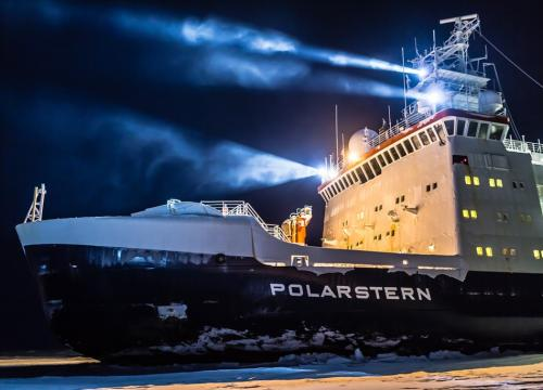 Polarstern research vessel.