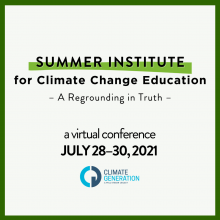 Summer Institute for Climate Change Education