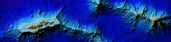 Coastal DEMs Map
