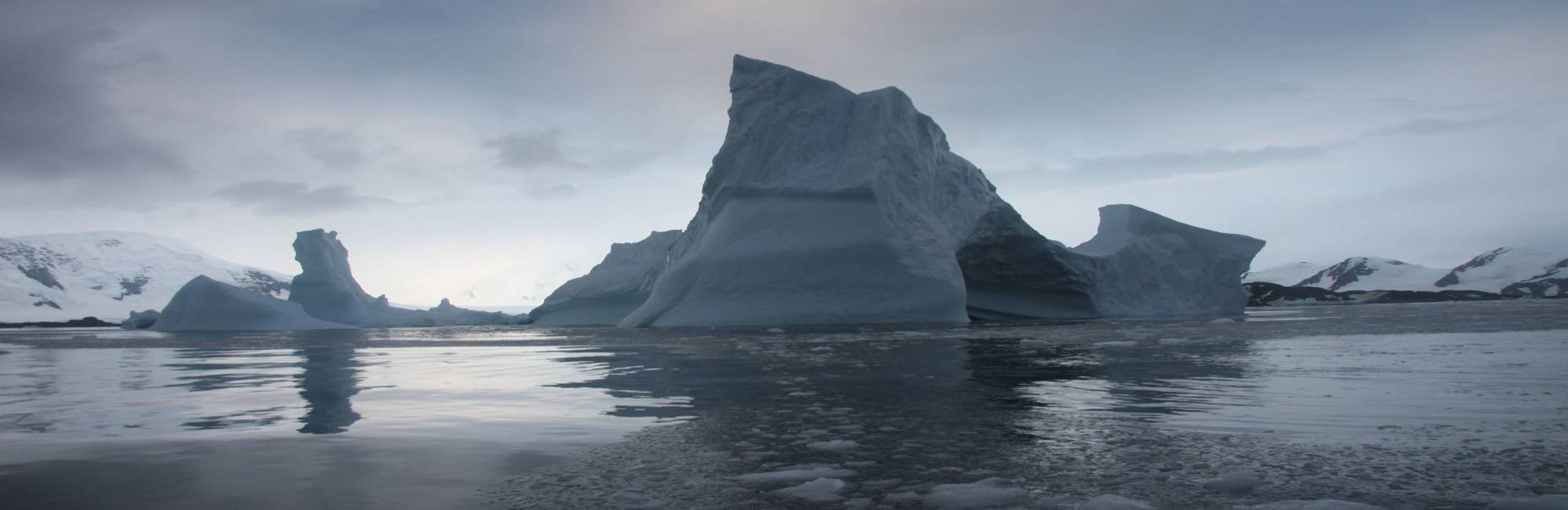Iceberg in the ocean