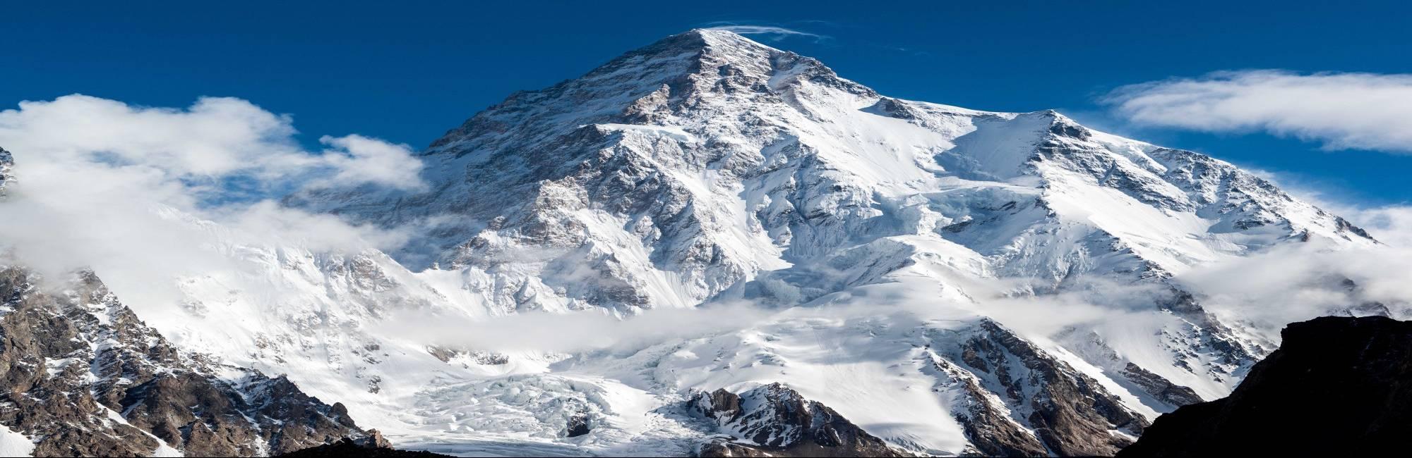 icy mountain peak