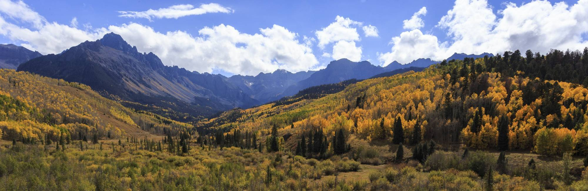 fall landscape colorado
