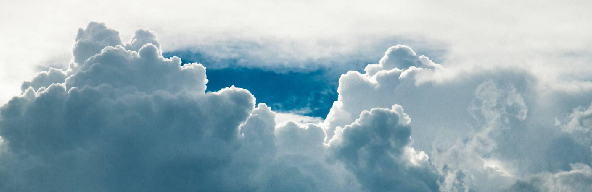 Clouds. Photo: Marc Wieland on Unsplash