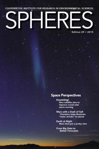 Spheres Space Edition 09 Cover