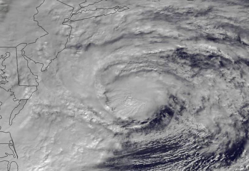 Hurricane Sandy on 10-29-12