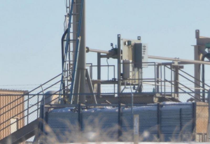 Uintah Basin gas flare