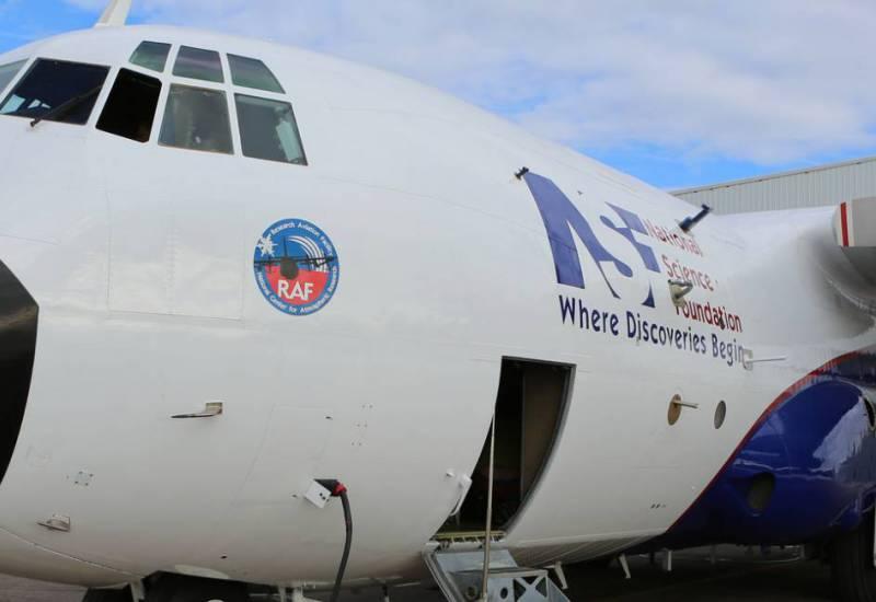 NSF/NCAR C-130 research aircraft