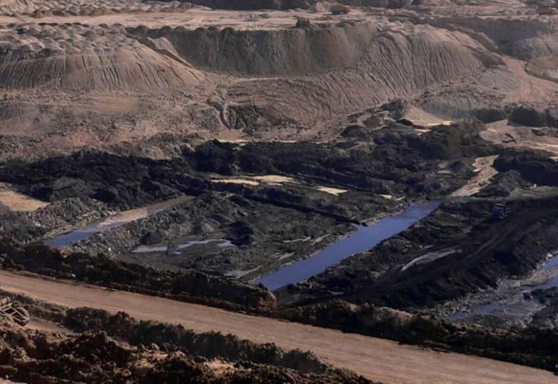 A coal mine in Hailar, Inner Mongolia, China.