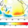 Ocean circulation map